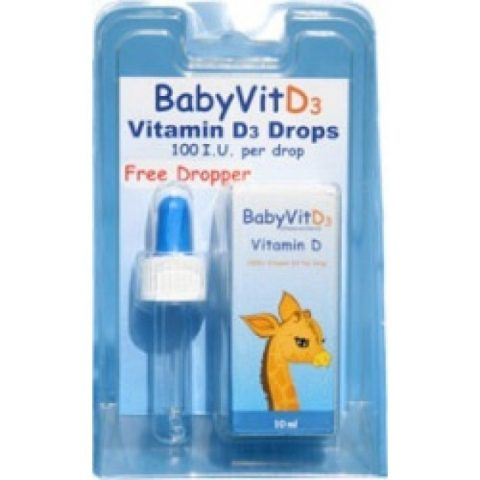 BabyVit D3|Buy Online at McDaids Pharmacy Ireland