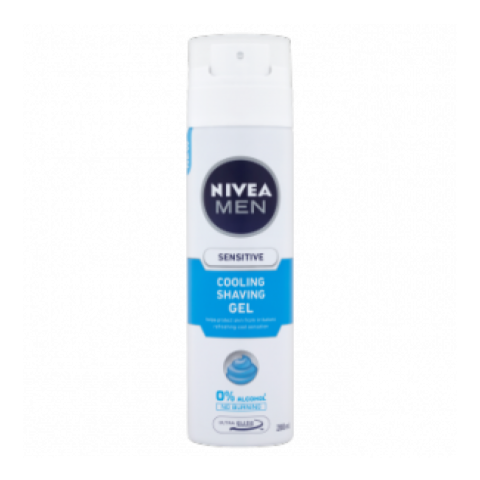 Nivea Men Sensitive Cool Shaving Gel 200ml