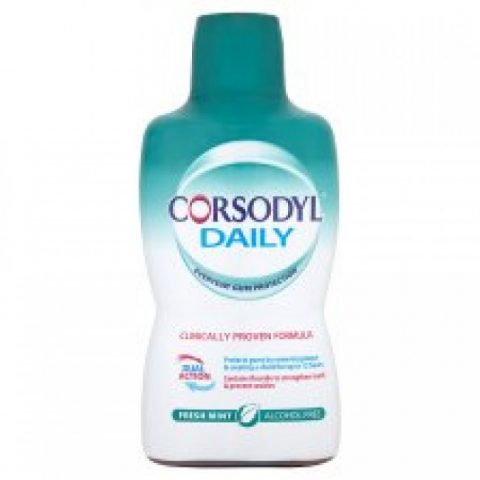 Corsodyl Fresh Mint Alcohol Free 500ml