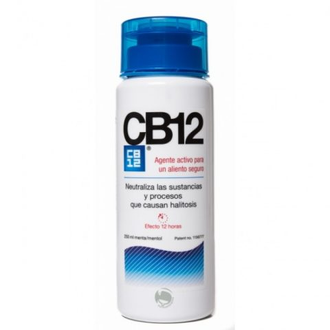 CB12 Fresh Breath Rinse 500ml New Bottle