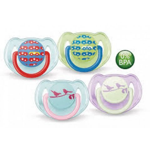 Avent Soother Fashion Animal 6-18months (2 pack)