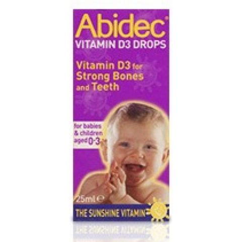 Abidec Vitamin d3 drops 25ml|Buy Online at McDaids Pharmacy Ireland