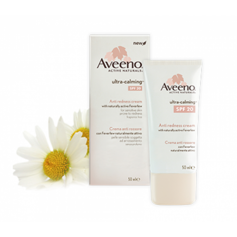 Aveeno Ultra Calming Anti Redness Cream SPF20 50ml
