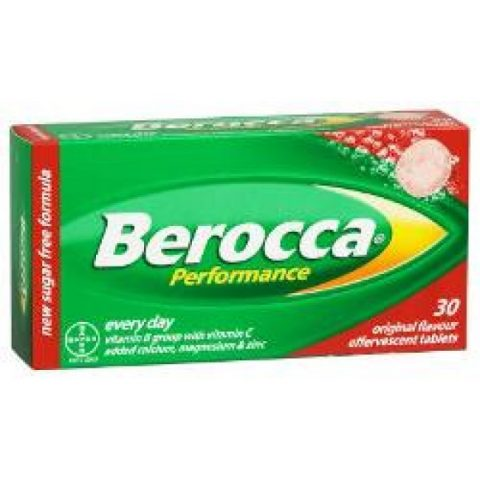 Berocca Performance Tablets Effervescent 30|Buy Online at McDaid Pharmacy Ireland