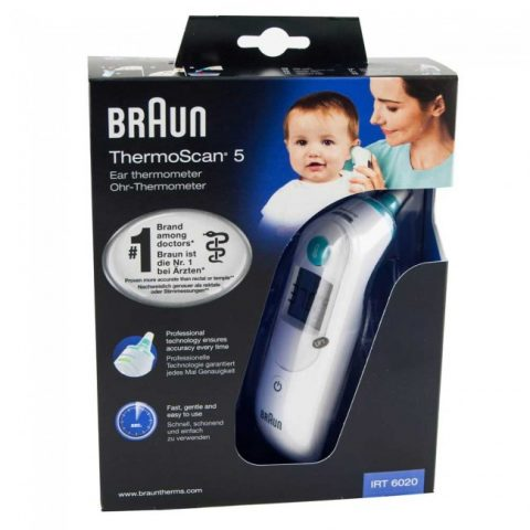 Braun Thermoscan 5  Ear Thermometer IRT6020