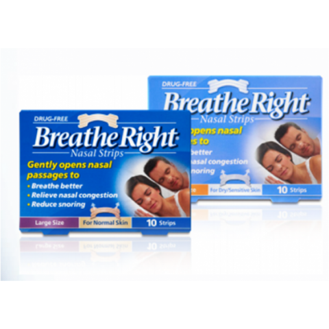 Breathe Right Nasal Strips|Snoring|Buy Online at McDaid pharmacy ireland
