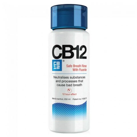 CB12 Bad Breath Neutraliser 250ml + Free Travel Size Pack