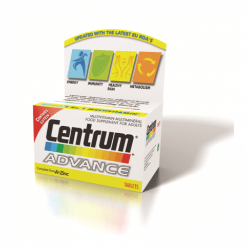Centrum Advance (60) | Centrum Multivitamins | Centrum Ireland