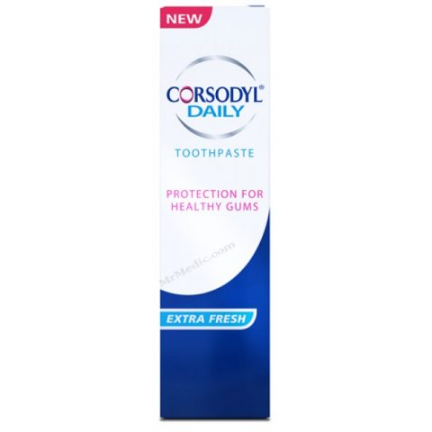 Corsodyl Daily Extra Fresh Paste 75ml