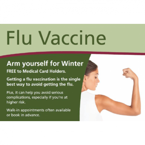 Flu vaccination 2014 now available in McDaids Pharmacies