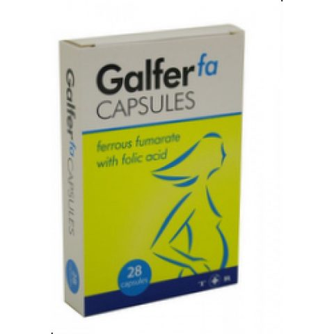 Galfer FA Iron Supplement28 Tablets|Buy Online at McDaid Pharmacy Ireland