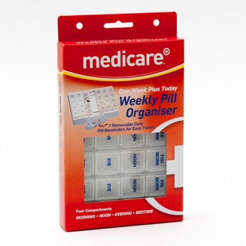 Medicare One Week Plus Today Pill Box