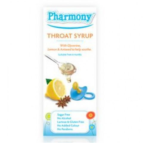 Pharmony Cough Syrup for babies 4m+ and young children 100ml