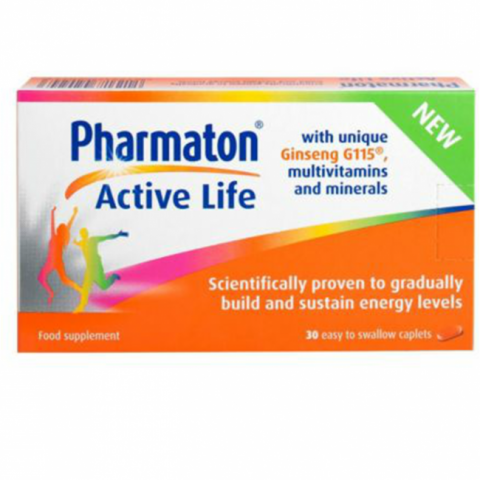 Pharmaton Active Life | Maintain Energy Levels | Pharmaton Ireland