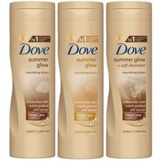 Dove Summer Glow Gradual Self Tan Body Lotion