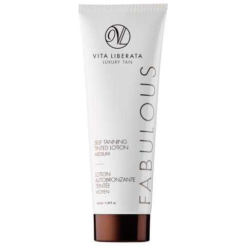 Vita Liberata Fabulous Self Tan Tinted Lotion Medium.
