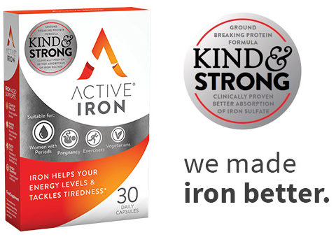 Active Iron Supplement - Bioavailable, Absorbable Iron Formula