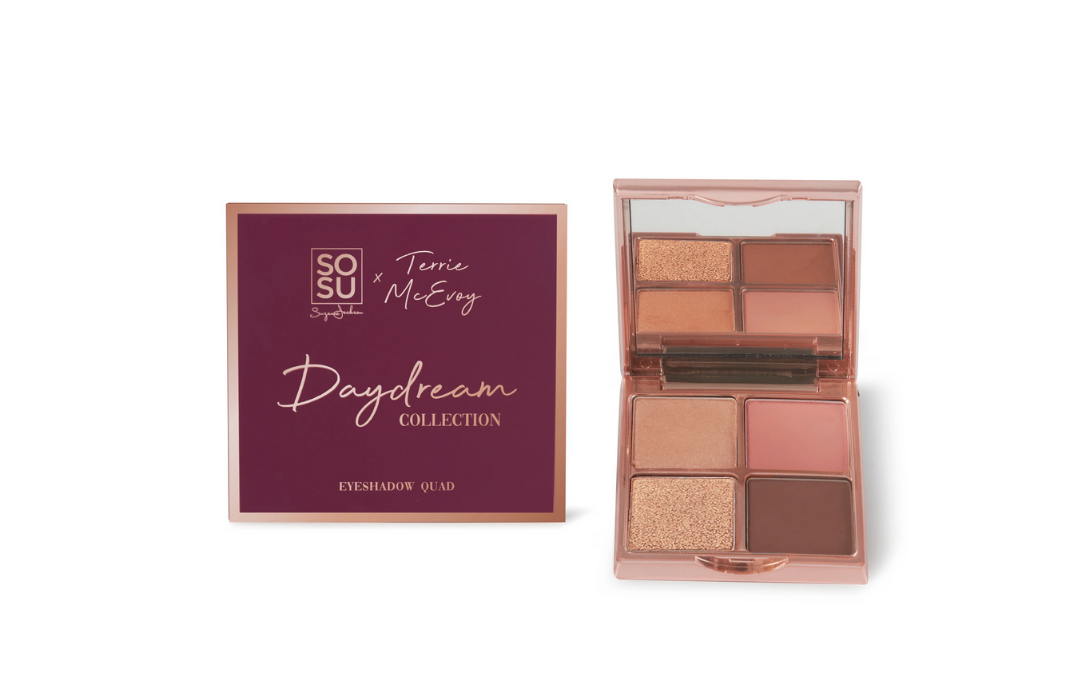 SOSU x Terrie McEvoy Daydream Collection Eyeshadow Quad